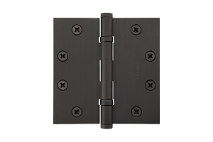 Emtek 94015 4.5  X 4.5  Square Heavy Duty Ball Bearing Hinges-Pair