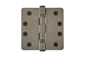 Emtek 94024 4 X 4 - 1/4 Radius Heavy Duty Ball Bearing Hinges-Pair