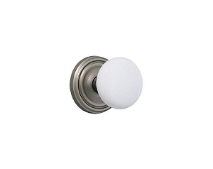 Emtek Ice White Knob