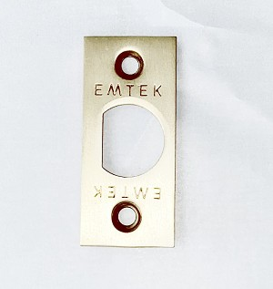 Emtek Face Plate with Square Corners MS4_LCFCPLT