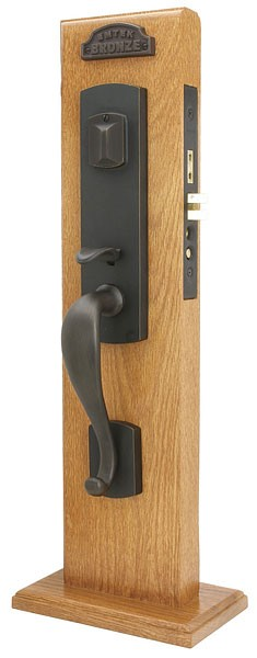 Emtek 3327 Morgan Mortise Handleset